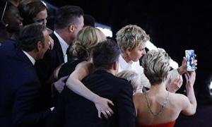 Tuit Oscar DeGeneres
