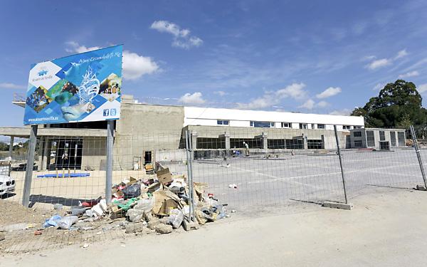 El acuario no se abrirá en mayo, pero podría estar a principios de verano. / J. L. Montero
