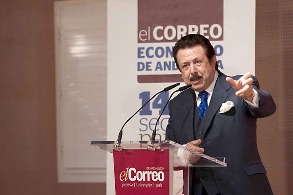 Antonio Morera Vallejo, durante su intervención. / J.M.Paisano