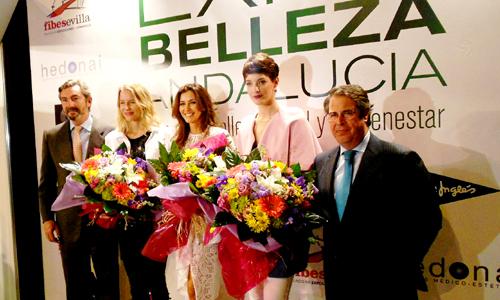 Inauguración del Salón de la Belleza en Fibes.