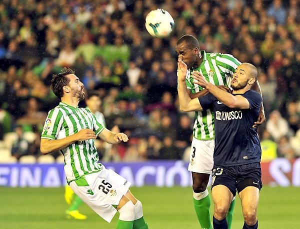 Real Betis - Málaga CF. / Foto: Kiko Hurtado