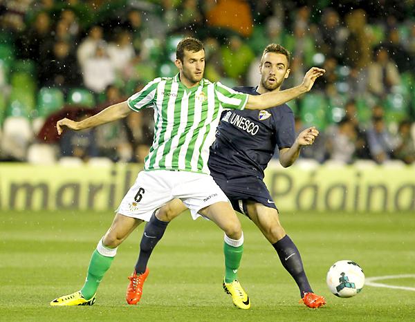 Real Betis - Málaga CF. / Foto: Ramón Navarro