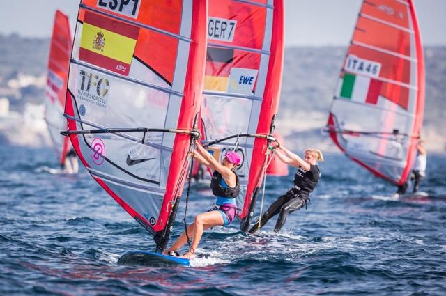 Blanca Manchón, este lunes en la primera jornada del Trofeo Princesa Sofía / Martínez Estudio