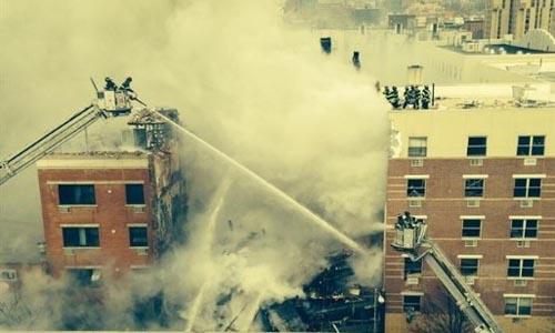 explosion gas Nueva York