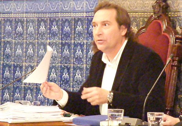 Fernando Reina, concejal del PA en Écija.