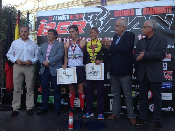 Los vencedores del II Iberman MD Ciudad de Ayamonte (El Correo).