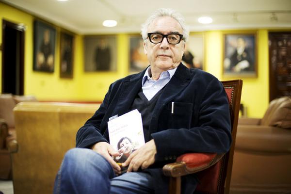 Juan José Millás, este lunes en la Universidad de Sevilla. / Pepo Herrera