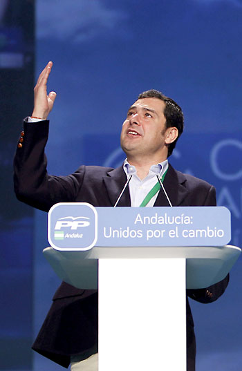 Juan Manuel Moreno. / EFE