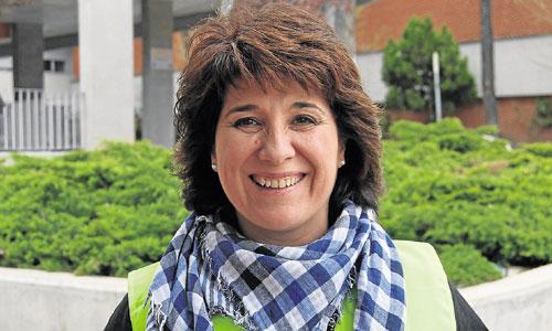 Marta Cesteros. Profesora de Bachillerato