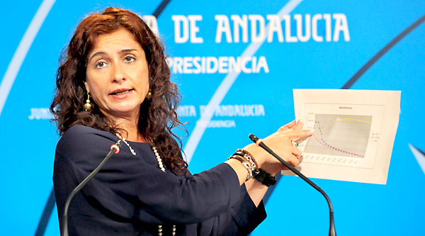 La consejera de Hacienda y Administración Pública, María Jesús  Montero. / EFE