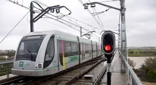 Línea 1 del Metro de Sevilla. / J.M.Paisano