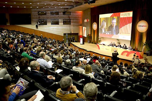 Acto de inauguración del Congreso en FIBES. / Pepo Hererra