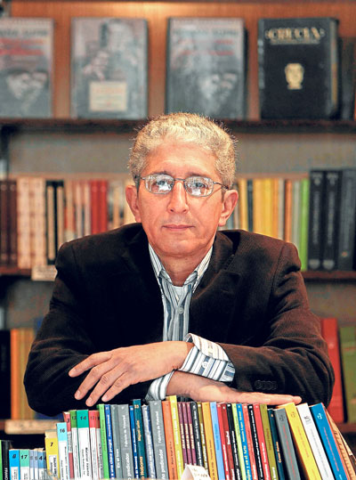 José Pérez Olivares, un autor de larga y contrastada trayectoria. / Paco Cazalla