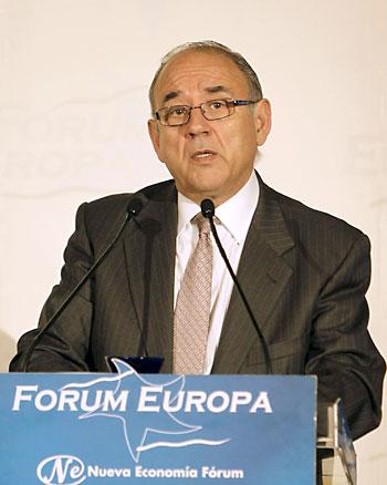 El presidente de la Organización Médica Colegial (OMC), Juan José Rodriguez Sendin. / EFE