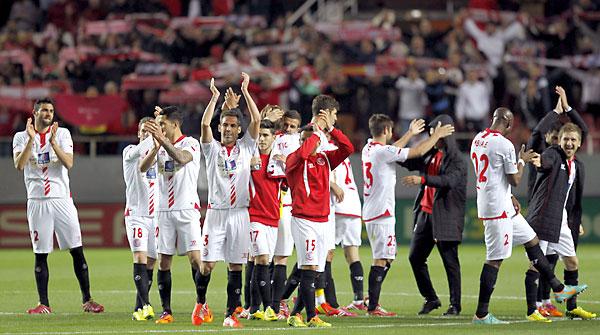 Sevilla FC - Real Madrid. / Foto: EFE