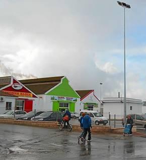 Imagen de la zona comercial que ampliará el Ayuntamiento.