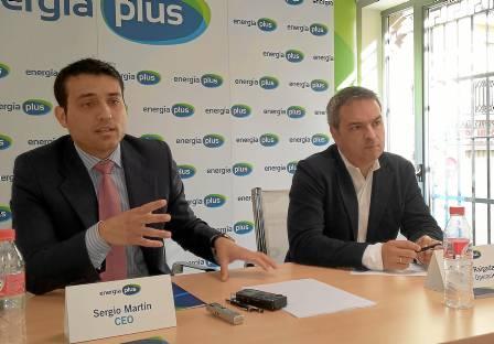 Sergio Martín, director general, y Manuel Raigada, director de Operaciones de Energía Plus.