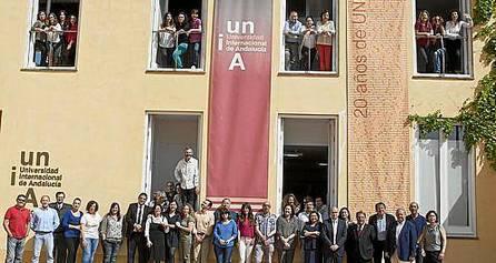 La Universidad Internacional de Andalucía comenzó ayer la celebración de su 20 aniversario.