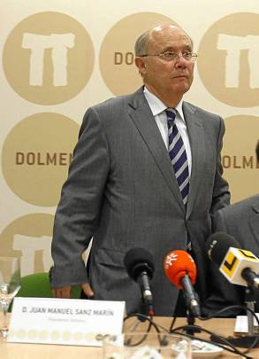 El presidente de Dolmen, Juan Manuel Sanz Marín.