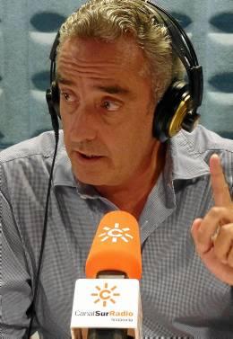 Guerrero, en Canal Sur Radio.