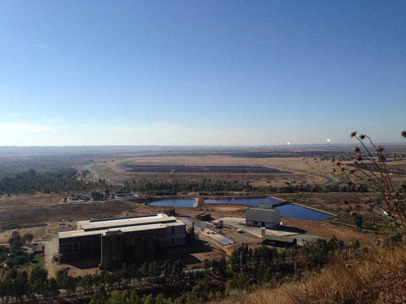 Instalaciones de la mina de Aznalcóllar. / EL CORREO