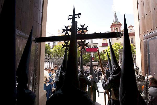 Hermandad de la Borriquita, que sale este domingo. / J.M.Paisano
