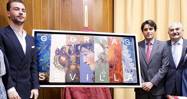 Presentación del cartel. / Pepo Herrera