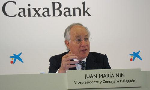El vicepresidente y consejero delegado de CaixaBank, Joan Maria Nin.