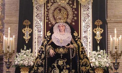 La Virgen de la Concepción de Sanlúcar la Mayor. / Foto: El Correo