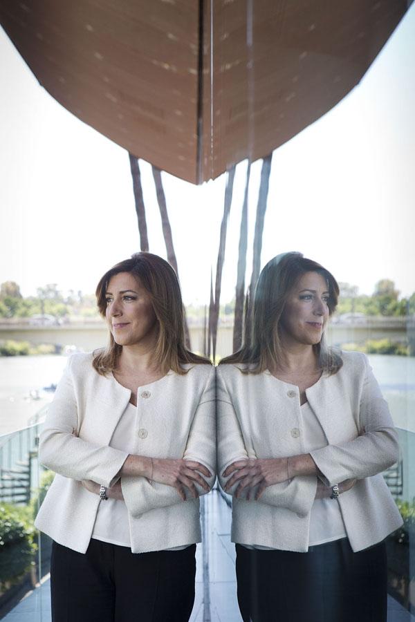 Sevilla 26/04/2014 Entrevista a la presidenta de la Junta de Andaluc