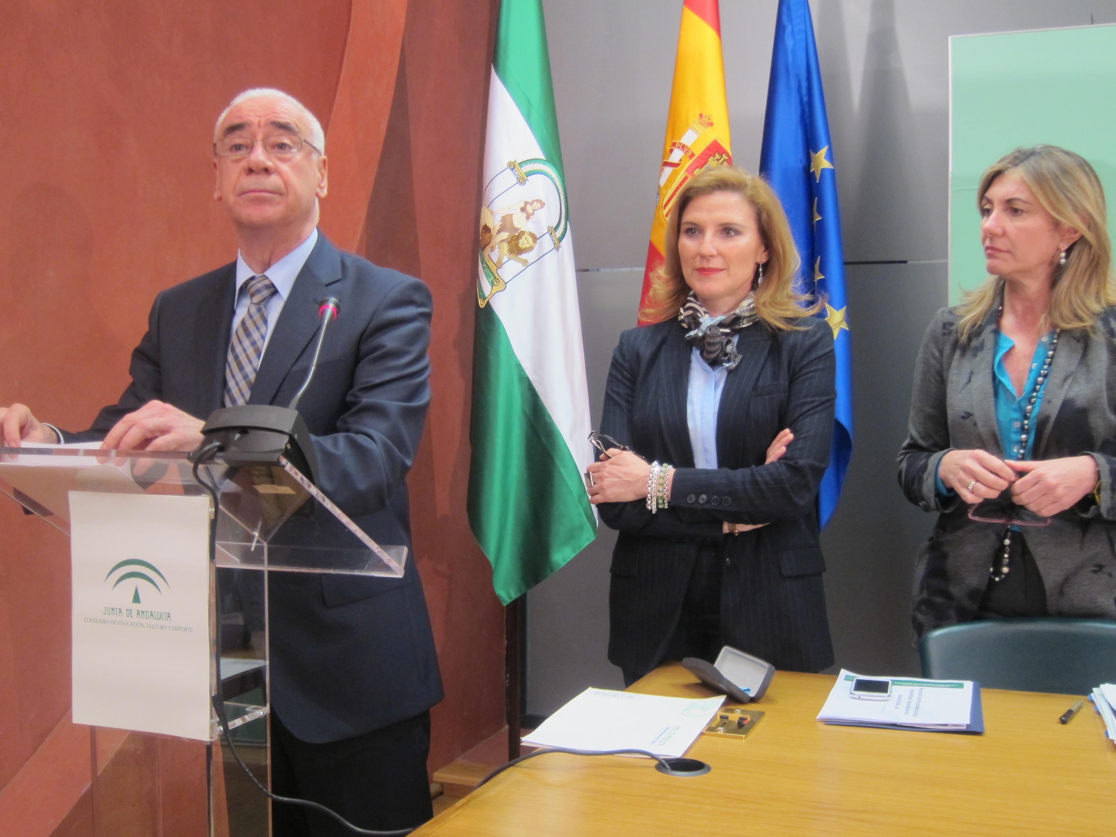 El consejero de Educación de la Junta, Luciano Alonso