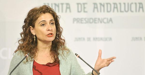 La consejera de Hacienda, María Jesús Montero. / EFE