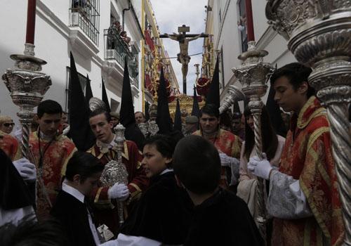 Sevilla 16/04/2014 Semana Santa. Salida de San Bernardo<br /><br /><br />  FOTO: Pepo Herrera