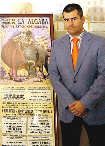 El exalcalde de La Algaba José Luis Vega.