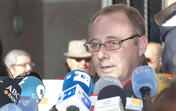 Antonio del Castillo, padre de Marta. / J.M.Espino