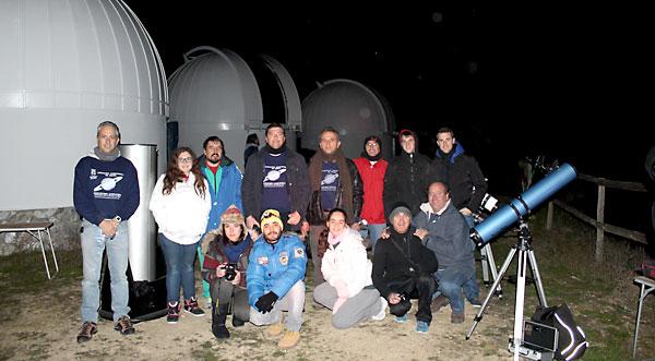 En Almadén de la Plata, en plena Sierra Norte de Sevilla, se encuentra el observatorio astronómico para la divulgación científica más importante de España . / Juan C. Romero