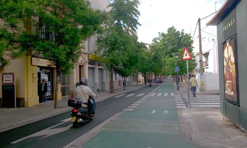 Avenida de la Cruz Roja.
