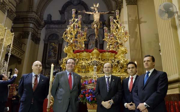 José María Cruz, con Castro y Del Nido Carrasco (SFC)