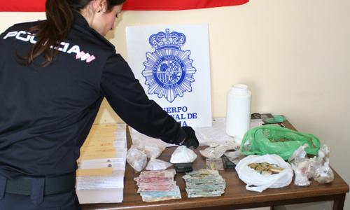 detenidos clan droga Tres Mil