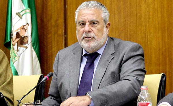 Joaquín Durán, este martes, en comisión parlamentaria. / E.P.