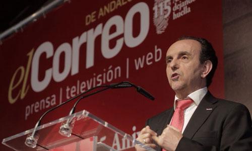El consejero de Turismo y Comercio de la Junta de Andalucía,  Rafael Rodríguez. Foto: Pepo Herrera