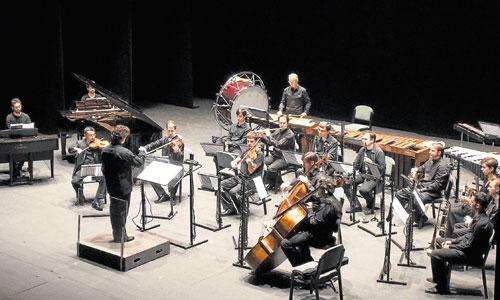 El conjunto Zahir Ensemble en una reciente actuación. / Foto: J.M. Paisano