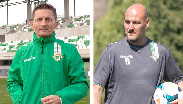 Luis Fradua (i) y Roberto Ríos.