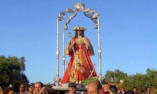 La Virgen de Guaditoca permanece hasta septiembre en la Parroquia.