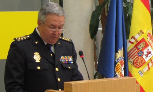 El nuevo jefe superior de Policía de Andalucía occidental, Francisco Perea.