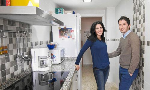 Vanesa Cabeza y Carlos Daza lograron hace un año su sueño de independizarse. / Foto: J.M. Paisano