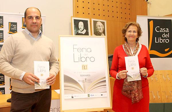 Presentación de la Feria del Libro de Tomares.