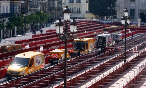 Lipasam se afana por mantener limpia la ciudad en Semana Santa.