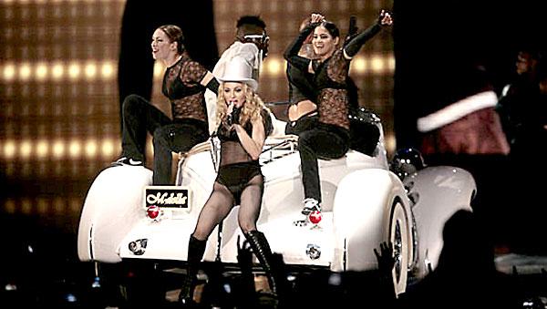 El Olímpico de la Cartuja acogió un concierto de Madonna en 2008.