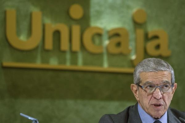 El presidente de Unicaja, Braulio Medel, en una imagen de archivo. / JORGE ZAPATA (EFE)